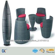 Diseño Creativo Rattan Muebles de exterior
