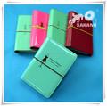 promotion PU PVC cute diary