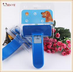 Self-cleaning Dog Hair Removal Comb,Dog Deshedding Comb