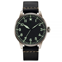 YB china factory wholesales excellent, classic,army watch,Japan movement pilot high quality military watch