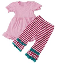 2015 Hot USA Wholesale Baby Girls Children Clothing Kids Adult Baby Girl Clothing