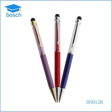 High Quality Mixed Colors Rhinestone Touch Screen Stylus Ball Point Pen