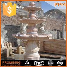 Garden sculpture, Fountain, stone carving fish garden fountain