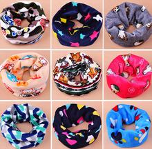 latest design 100% cotton fashion winter warm children neckerchief for kids