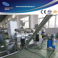 Two stage PVC Compunding die face cutting granulator line