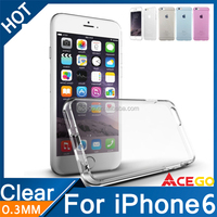 wholesale clear phone cases for iphone 6, clear cover for iphone6