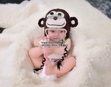 monkey cute crochet animal hats knitting patterns