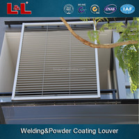 Aluminum wall louvers and auto aluminum sliding louver hot sale in 2015