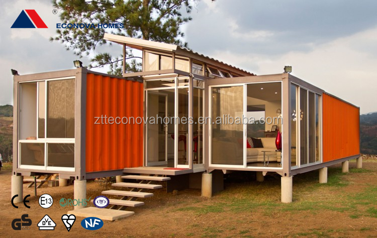 Prefabricated houses and container homes with eco friendly system for usa standard buy - Container homes usa ...