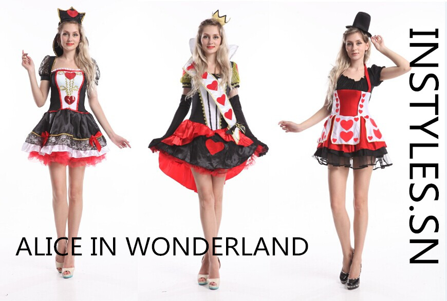 Halloween costumes police costumes cheer leader Alice in wonderland costumes (3)