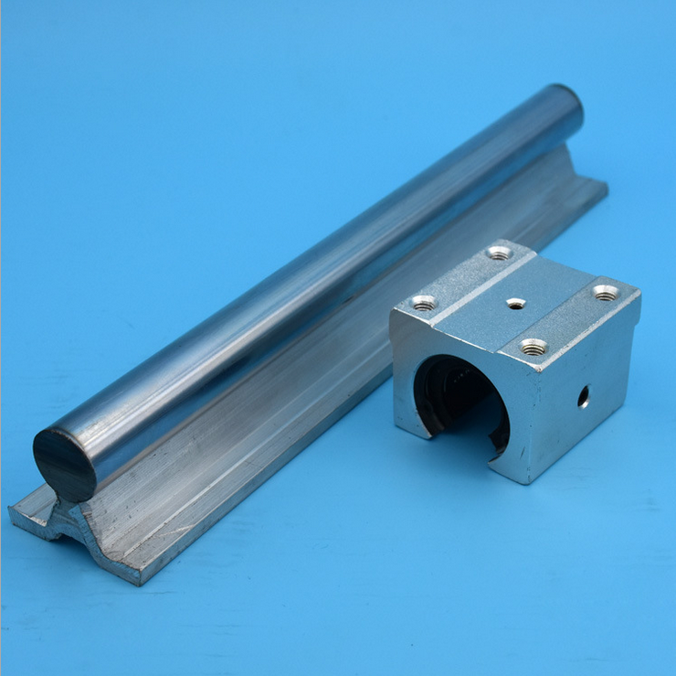 Lineaire gids 2x sbr12 1 meter 12mm lineaire rail as 12 for Cuisine lineaire 4 metres