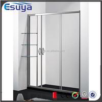 Shanghai Esuya 2015 promote corner glass door shower room with best quality