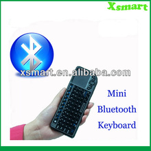 10meter Bluetooth Wireless Keyboard with backlits/touchpad/laser pointer