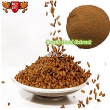 La muestra libre de planta Natural polvo Cassia Tora semillas extracto