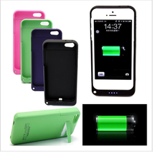 Backup Battery Charger Case 2200mAh emergency Power Bank Cover for Iphone 5 5S