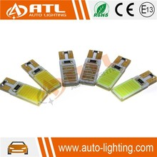 Factory price 5W led cob t10, 12V led car t10, 6000K car led bulb lamp