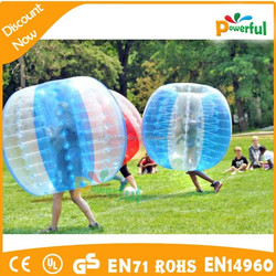 High quality bubble suit/giant inflatable clear ball/inflatable sumo ball