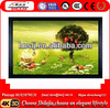 "China Manufacture 100"" PVC Curved Interactive Frame Projector Screen 3d Silver Screen"