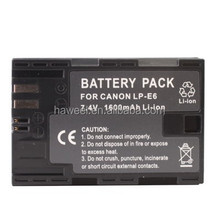 LP-E6 Battery for Canon EOS 5D Mark II(Black)