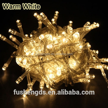 RGB or Single Color Solar fairy light IP44 party LED String 5m 50leds mini solar powered led light