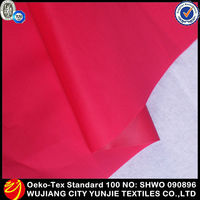 waterproof raincoat fabric/breathable waterproof windproof fabric/waterproof washable fabric