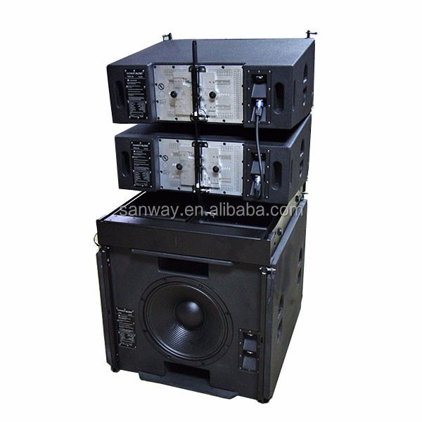VERA36 + S33 do Estágio De Alta Potência do Sistema Line Array
