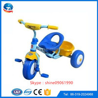 2015 new kids products fashion ABS material cheap price adjustable pedals children outdoor toys/child tricycle
