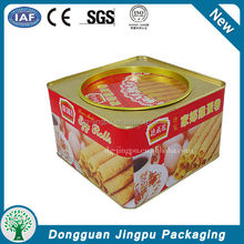 food chocolate new metal packaging box for 2015