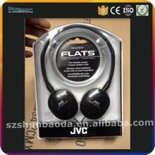 slide plastic blister packaging for sport earphone