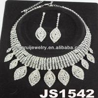 indian arabic rhinestone bridal jewelry sets