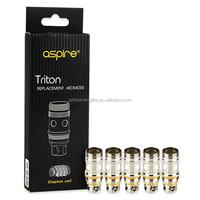 New triton accessories 5pcs Aspire Clapton Replacement Coil for Triton / Triton 2