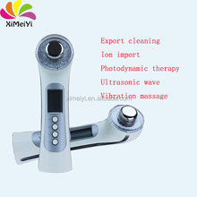 X-051 3 Colors Photon 3MHz U Rejuvenation Therapy Massager Facial Beauty Device