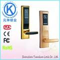 ferro forjado portão fechadura com cartão chave do hotel switch