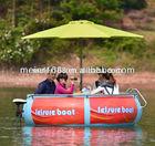 Flutuante jangada barco para a venda