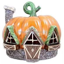 customize fashion resin pumpkin house