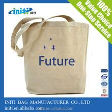 2015 eco friendly washable/reusable wholesale cotton canvas shopping bag