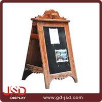 Nice Craft Vintage Wooden Sandwich A Frame Chalk Board Shop Display Sign Chalk Board