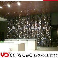 YD IP68 CE FCC approved led decoration light curtain