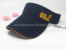 custom 100% cotton sun visor hat wholesale sun Visor cap