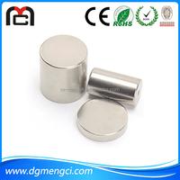 Strong parmanent n50 neodymium cylinder magnet make