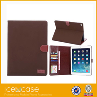 2015 wholesale leather case for ipad air2,shockproof case for ipad