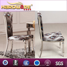 Elegent peafowl fashion design hotel chair hot sale product in ALIBABA dubai style backrest dining chairs