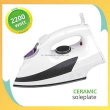 2000/2200W cheap Anti-calc/Anti-drip mini steam iron handy home electric iron