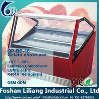 Refrigeration freezer equipment for vetrina gelato & verona gelati