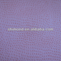 Fake Ostrich garment PU synthetic leather