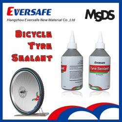Bicycle tyre sealant for emergency use
