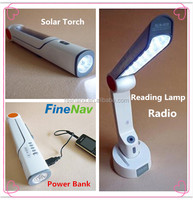 New product China supplier ODM accepted rechargeable led torch solar flashlight emergency lighting