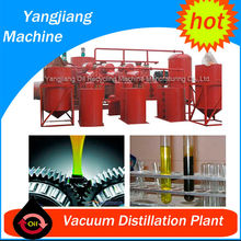 New Lube Oil Refined by Used Engine Oil Recycling Machine
