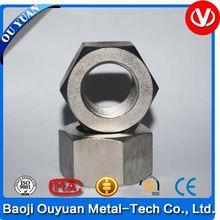 m8 gr2 best selling titanium blue fange bolts nut screws