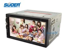 Suoer DVD player 7 inch car dvd player car video player MP3/MP4/MP5 player with USB/bluetooth/remote control